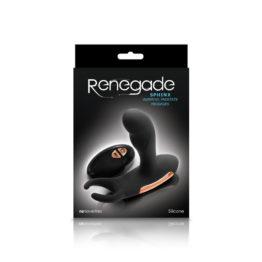 Массажер простаты с вибрацией и функцией нагрева Renegade - Sphinx - Warming Prostate Massager - Black