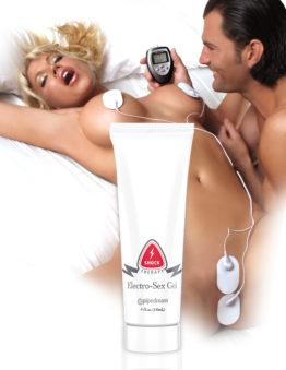 Гель массажный на водной основе 118 мл. Shock Therapy Electro-Sex Gel