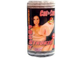 Мастурбатор вагина в банке CyberSkin Cat In A Can Pussy Stroker без вибрации