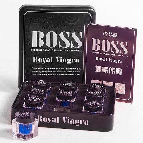 Мужские Таблетки для повышения потенции Boss Royal Viagra, BRV-1509