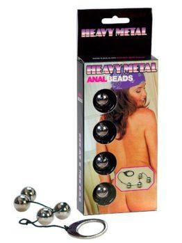 Анальные шарики HEAVY METAL ANAL BEADS металлические