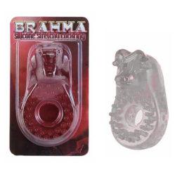 Кольцо эрекционное BRAHMA прозрачное, толстое