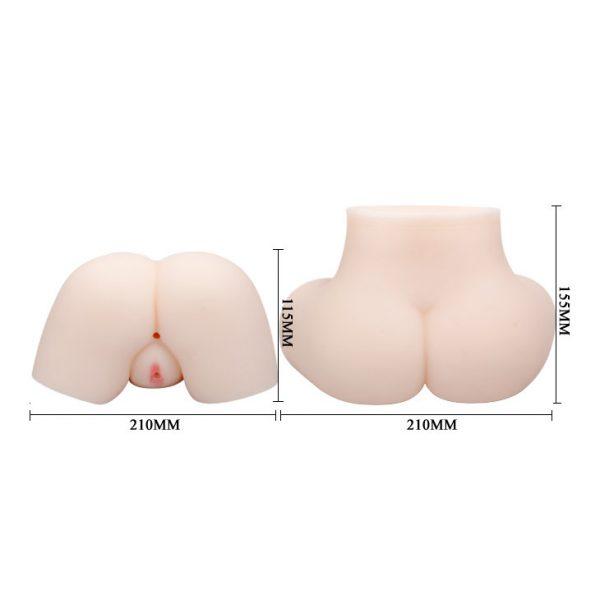 Мастурбатор полуторс анус и вагина с вибрацией