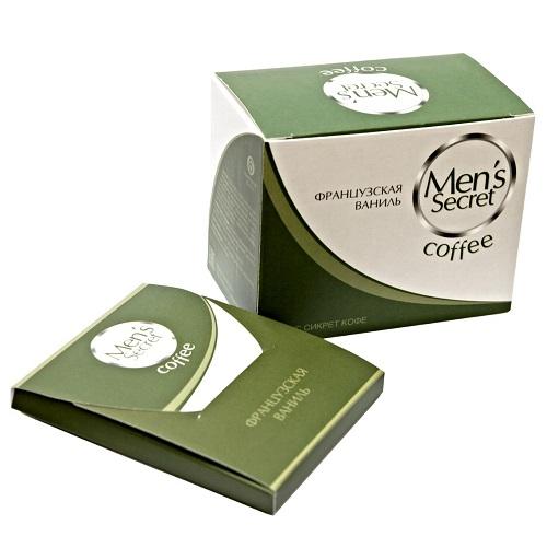 Мужские Менс Сикрет Кофе (напиток) французская ваниль 6 шт/упак, MS-01