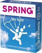 Презервативы SPRING™ Sky Light, 3 шт./уп. (ульра-тонкие)