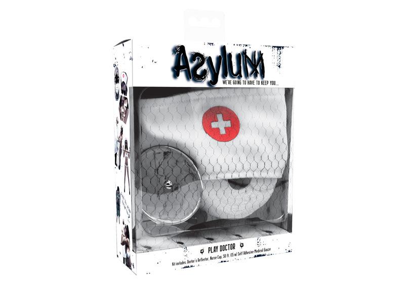 Набор для игры в доктора повязки на голову DISCONTINUE Asylum Play Doctor Kit1