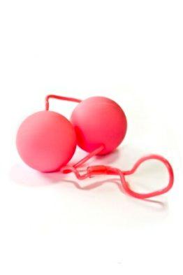 Шарики вагинальные SILKY розовые
