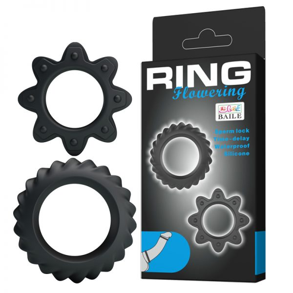 Baile Ring Flowering Набор ребристых эрекционных колец